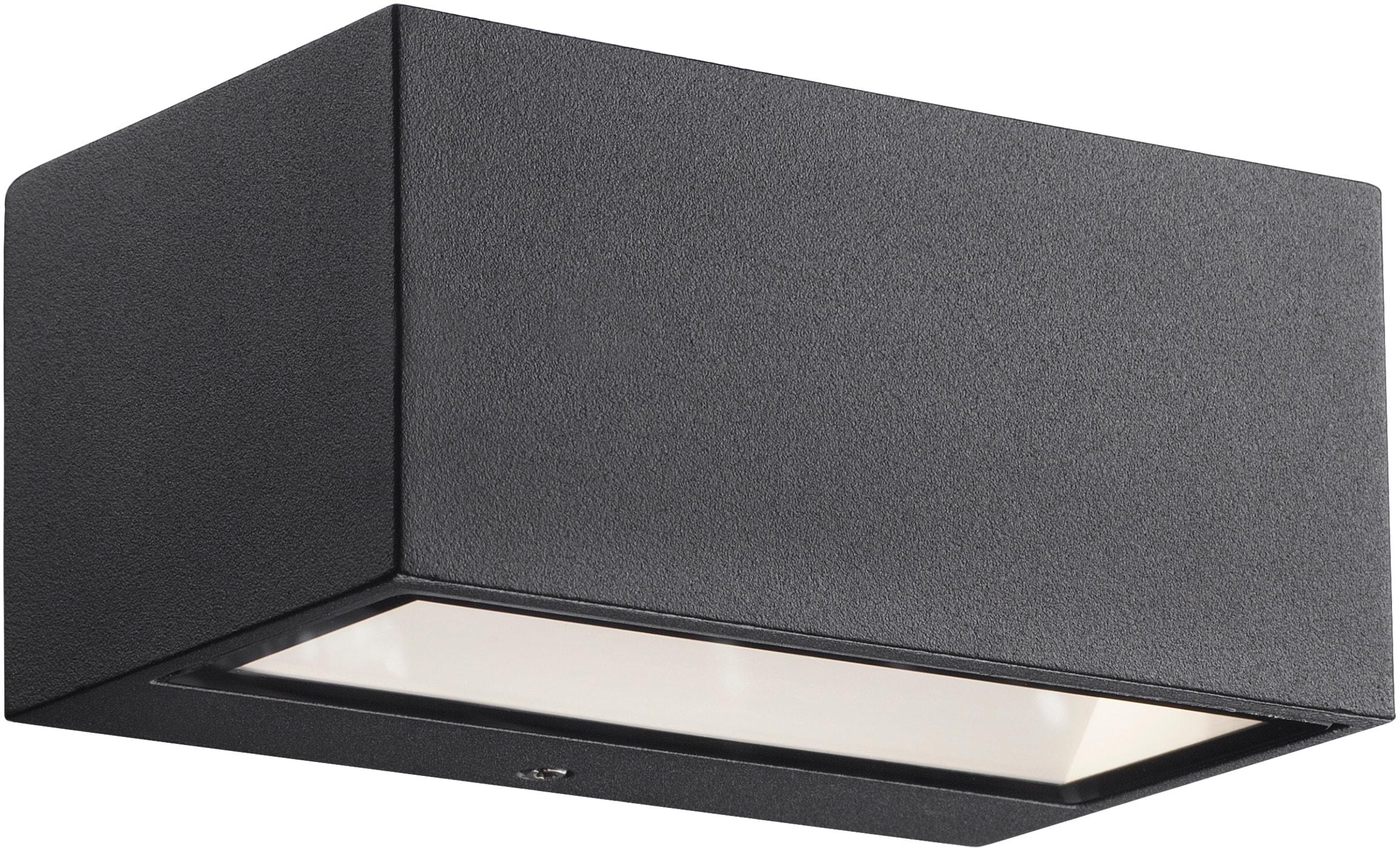 Nordlux LED Außen-Wandleuchte Nene, LED-Board, Warmweiß, LED Lebensdauer 25.000 h
