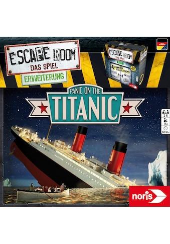 Noris Spiel »Erweiterungsspiel, Escape Room: Panic on the Titanic«, ; Made in Germany kaufen
