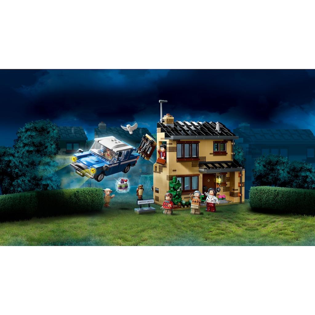 LEGO® Konstruktionsspielsteine »Ligusterweg 4 (75968), LEGO® Harry Potter™«, (797 St.), Made in Europe