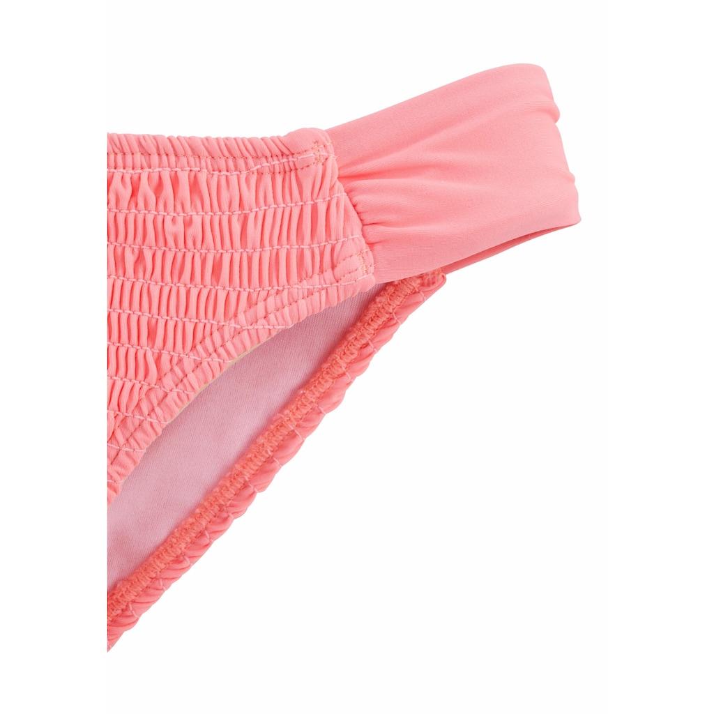 Homeboy Bikini-Hose »Kuba«, im gesmokten Design