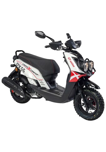 GT UNION Mofaroller »PX 55 Cross-Concept«, 2,5 PS, EURO 5 kaufen
