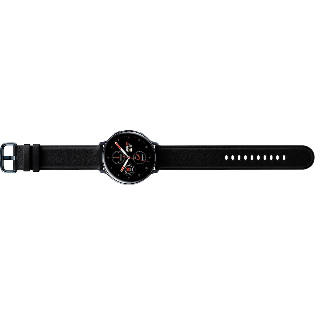 Samsung Smartwatch »Galaxy Watch Active2 Edelstahl, 44 mm, Bluetooth (SM-R820)« (3,4 cm/1,4 ""