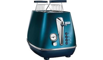 De'Longhi Toaster »Distinta CTI 2103.BL«, für 2 Scheiben, 900 Watt kaufen