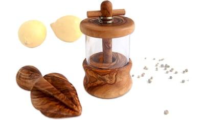 Olivenholz - erleben Kräutermühle kaufen