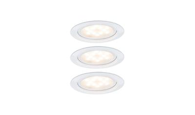 Paulmann Unterschrankleuchte »Unterbauleuchte LED Micro Line Weiß, 3er Set«, 3 St.,... kaufen