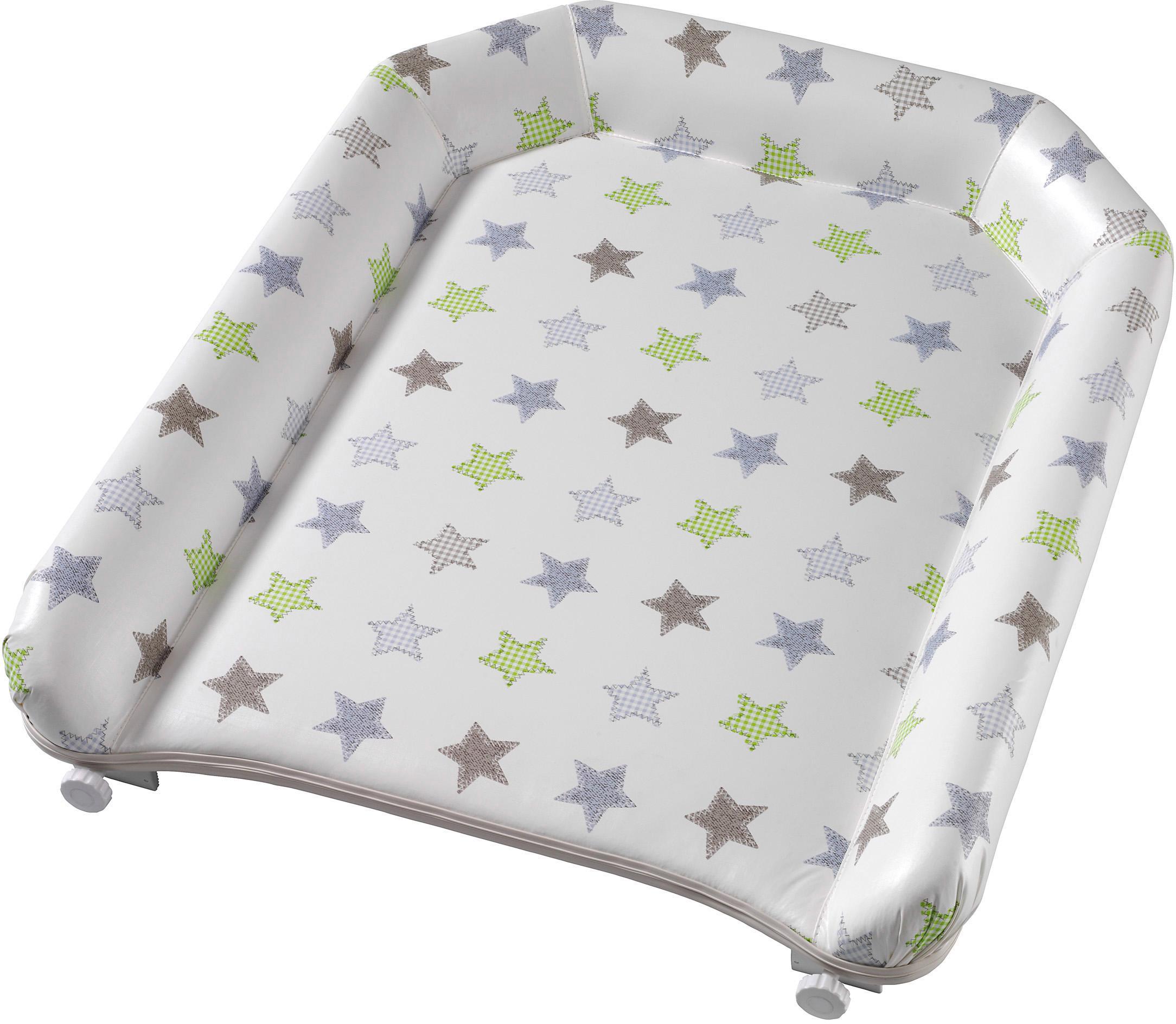 Geuther Wickelplatte 032, Sterne, für das Kinderbett weiß Baby Zubehör Babymöbel und Babybetten Möbel
