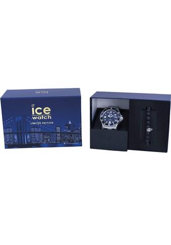 ice-watch Quarzuhr »Gift Box - ICE COFFRET NEW YORK 2 - Black, 18691«, (Set, 2 tlg., mit zusätzlichem Armband) kaufen