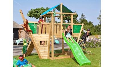 Jungle Gym Spielturm »Jungle Hut Boat«, BxTxH: 404x367x290 cm kaufen