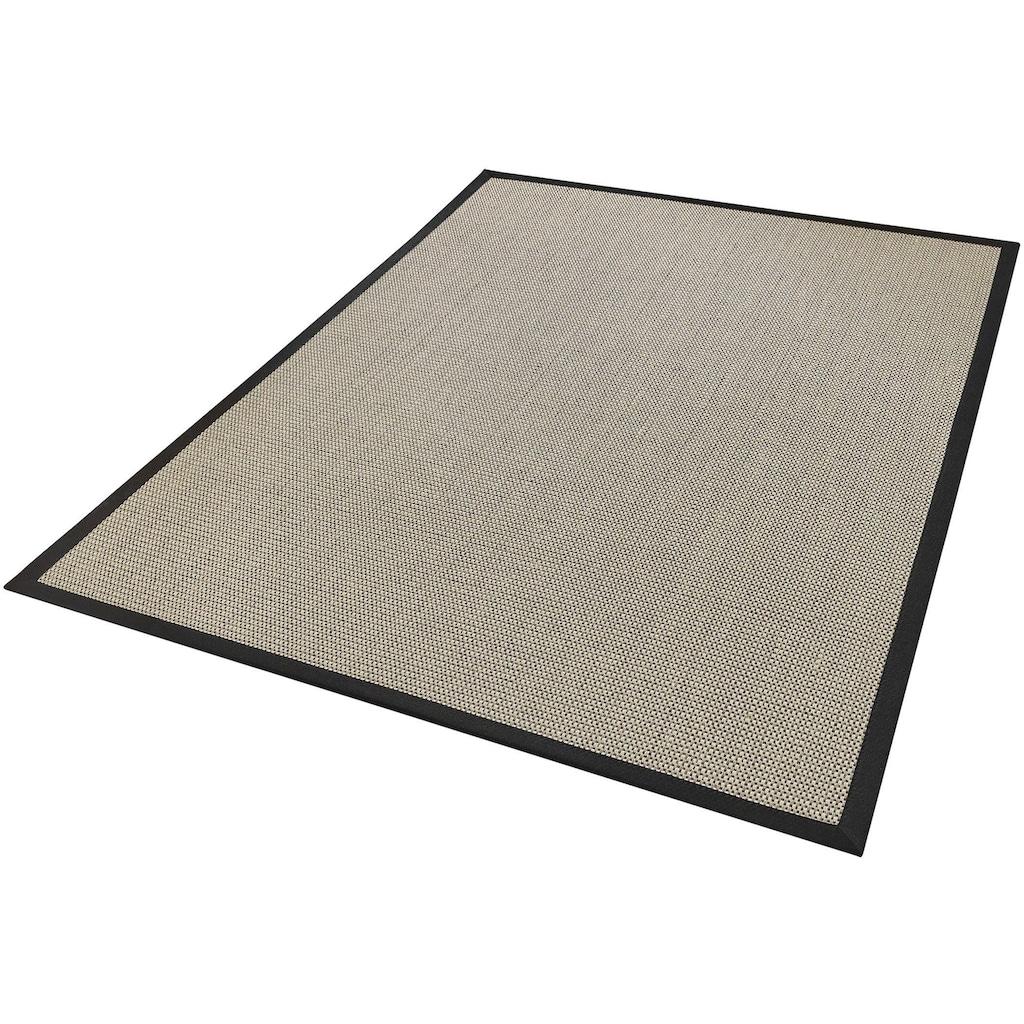 Dekowe Sisalteppich »Brasil, Wunschmaß«, rechteckig, 10 mm Höhe, Obermaterial: 100% Sisal, mit Bordüre, Wohnzimmer