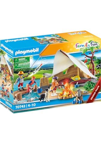 Playmobil® Konstruktions-Spielset »Familie beim Campingausflug (70743), Family Fun«,... kaufen