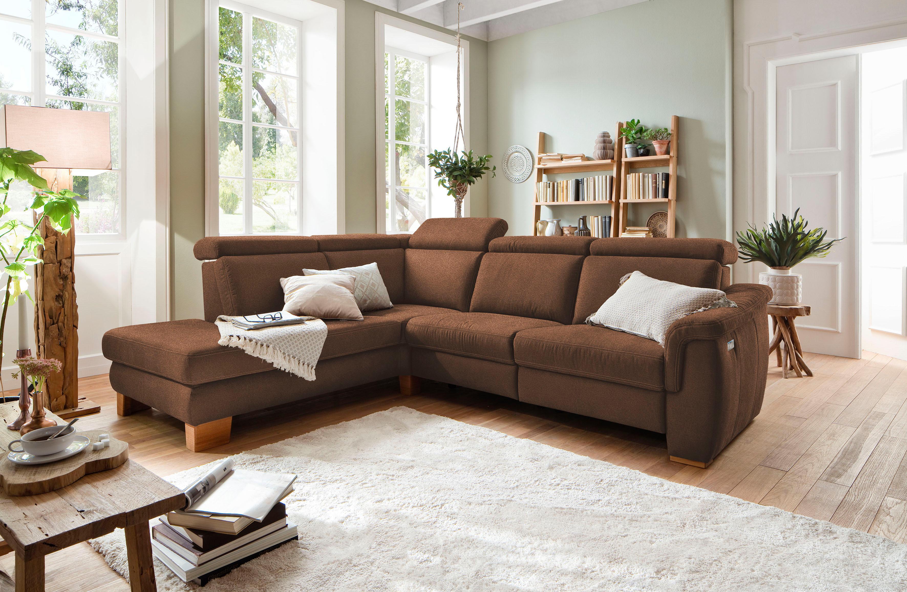 Home affaire Ecksofa Konstanz wahlweise mit vollmotorischer Relaxfunktion