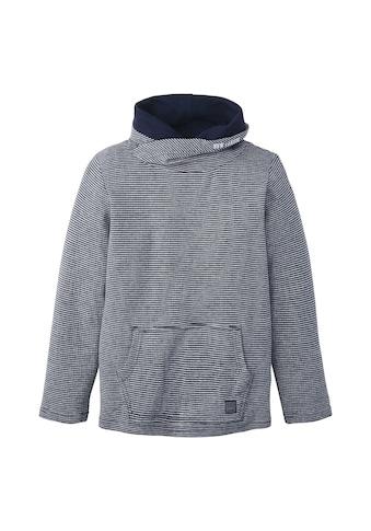 TOM TAILOR Longsweatshirt »Gestreiftes Langarmshirt« kaufen