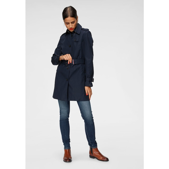 TOMMY HILFIGER Langjacke »HERITAGE SINGLE BREASTED TRENCH«