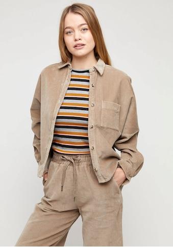 MAZINE Shirtjacke »Lida«, lässiges Cordhemd mit Brusttasche kaufen