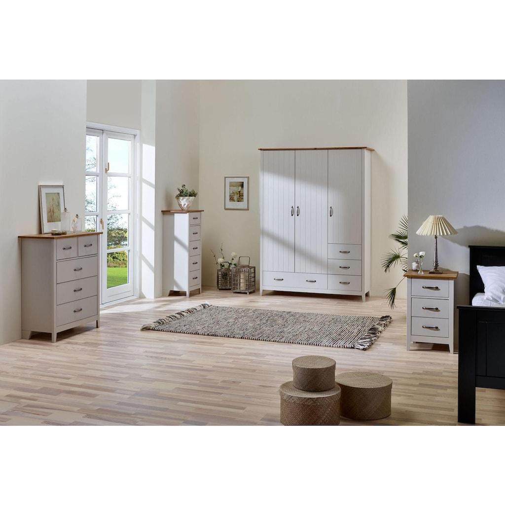Home affaire Kommode »Norfolk«, mit 5 Schubladen, Breite 44 cm