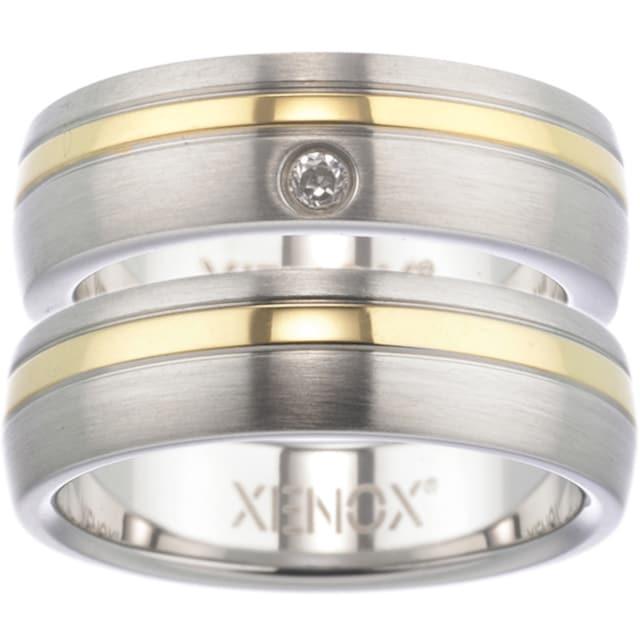 XENOX Partnerring »Xenox & Friends, X1681, X1682«, wahlweise mit oder ohne Zirkonia