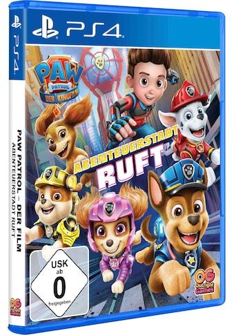 Bandai Spiel »PAW Patrol - Der Kinofilm Abenteuerstadt ruft«, PlayStation 4 kaufen