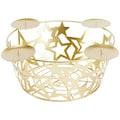 my home Adventsleuchter »Adventskorb - Sterne«, aus Metall