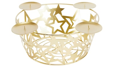 my home Adventsleuchter »Adventskorb  -  Sterne« kaufen