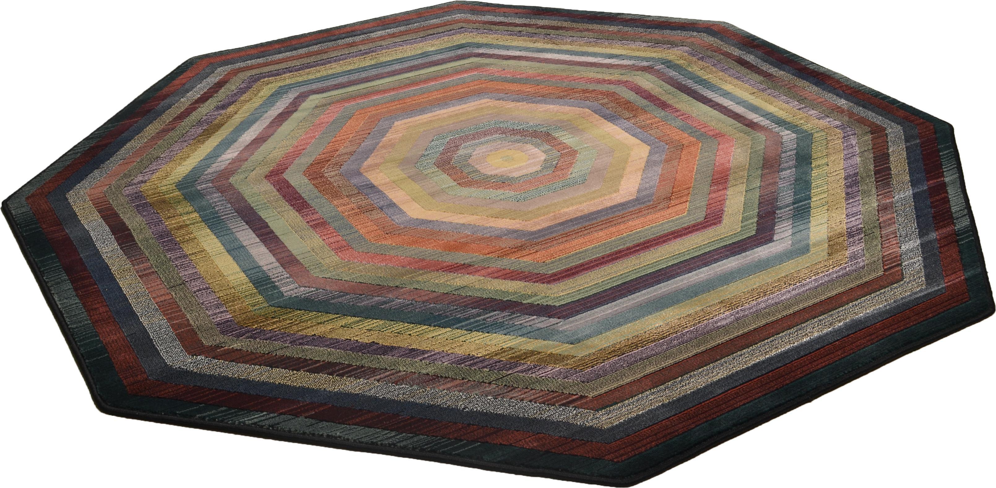 Teppich Gabiro 001 THEKO mehreckig Höhe 10 mm maschinell gewebt