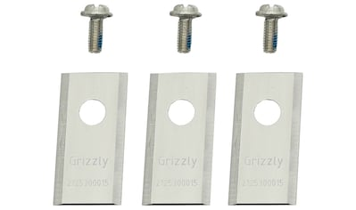 GRIZZLY Ersatzmesser für Rasenmähroboter, 3er Set kaufen