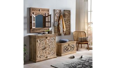 SIT Garderoben-Set »Lakadee«, (5 St.), mit hübschen Schnitzereien kaufen