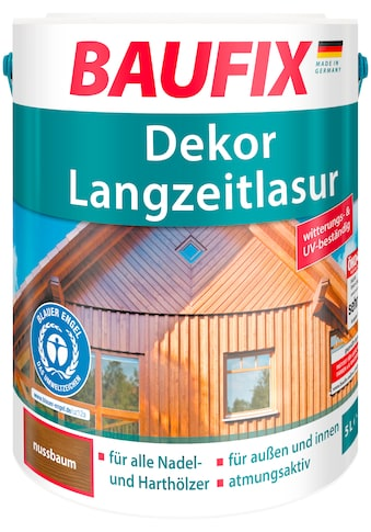 BAUFIX Holzschutz - Lasur »Nussbaum«, Dekor - Langzeitlasur kaufen