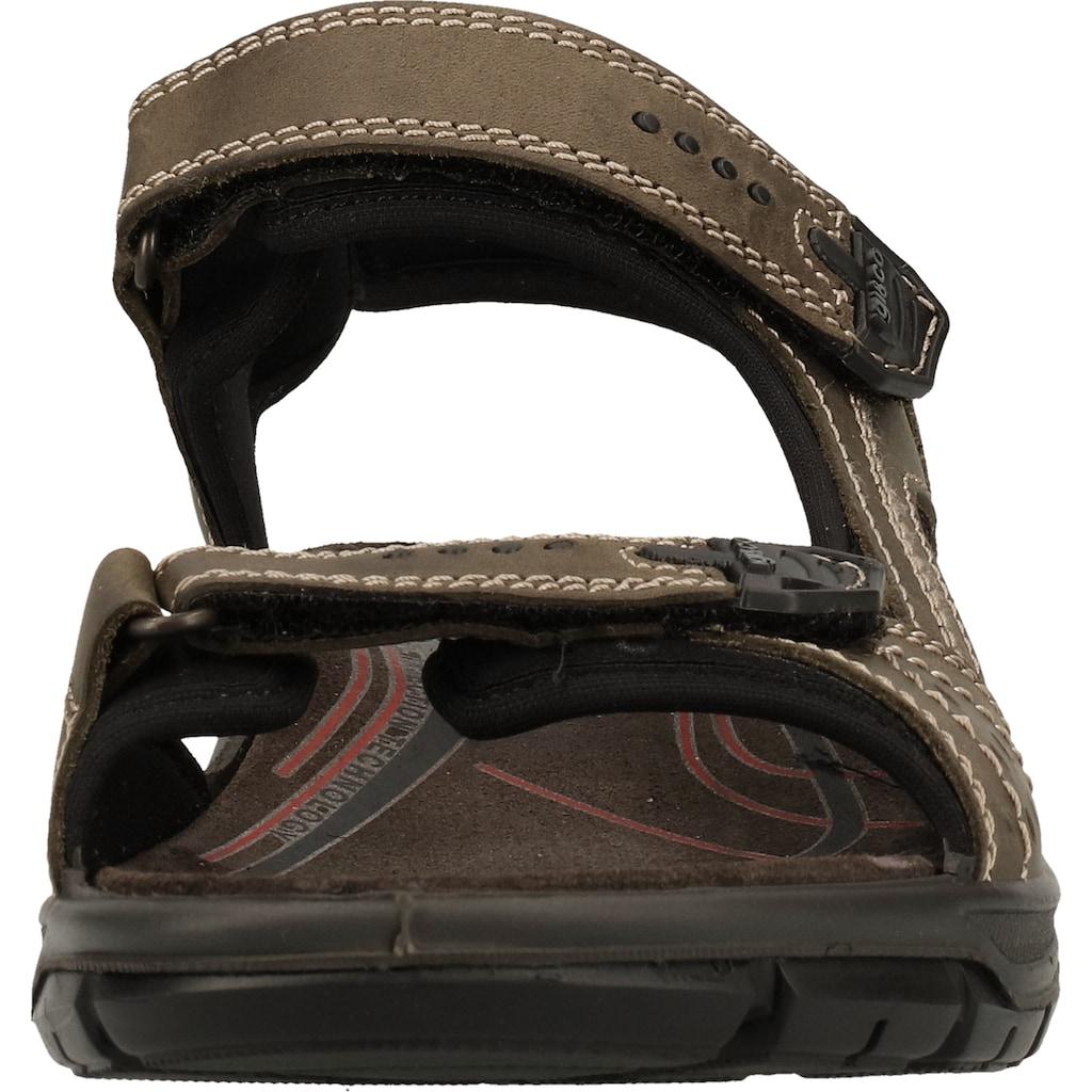 IGI & CO Sandale »Nubukleder/Textil«