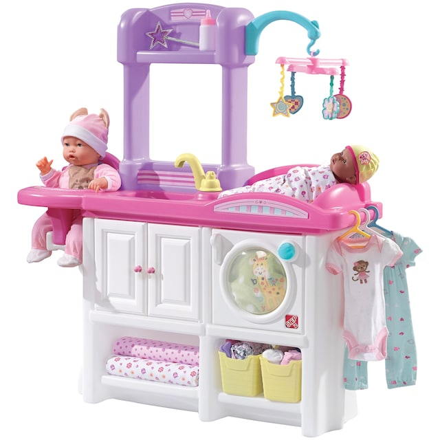 STEP2 Puppenstation »Love & Care Deluxe Nursery«, BxLxH: 25x80x95 cm