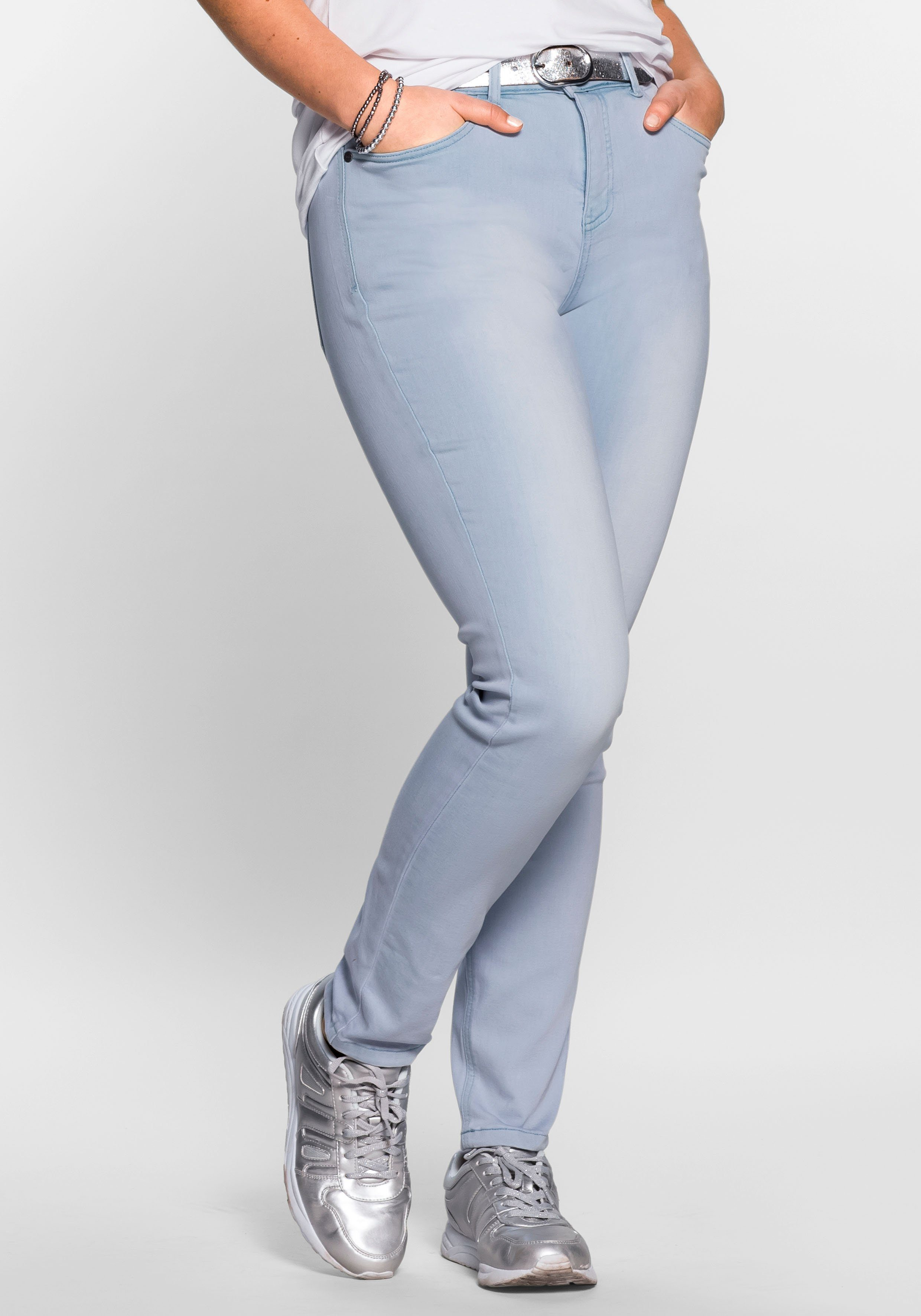 Sheego Stretch-Jeans | Bekleidung > Jeans | Sheego