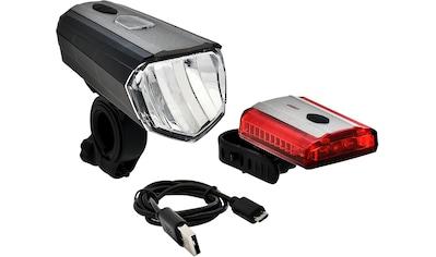 Büchel Fahrradbeleuchtung »Sky Valley + 3D Lite«, (Set, 5, Front- und Rücklicht) kaufen