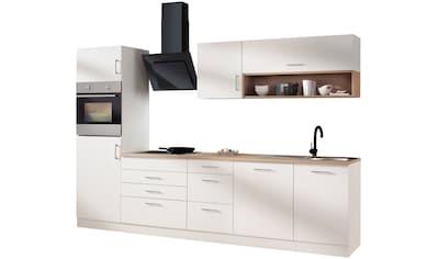 HELD MÖBEL Küchenzeile »Palermo«, mit E-Geräten, Breite 300 cm kaufen