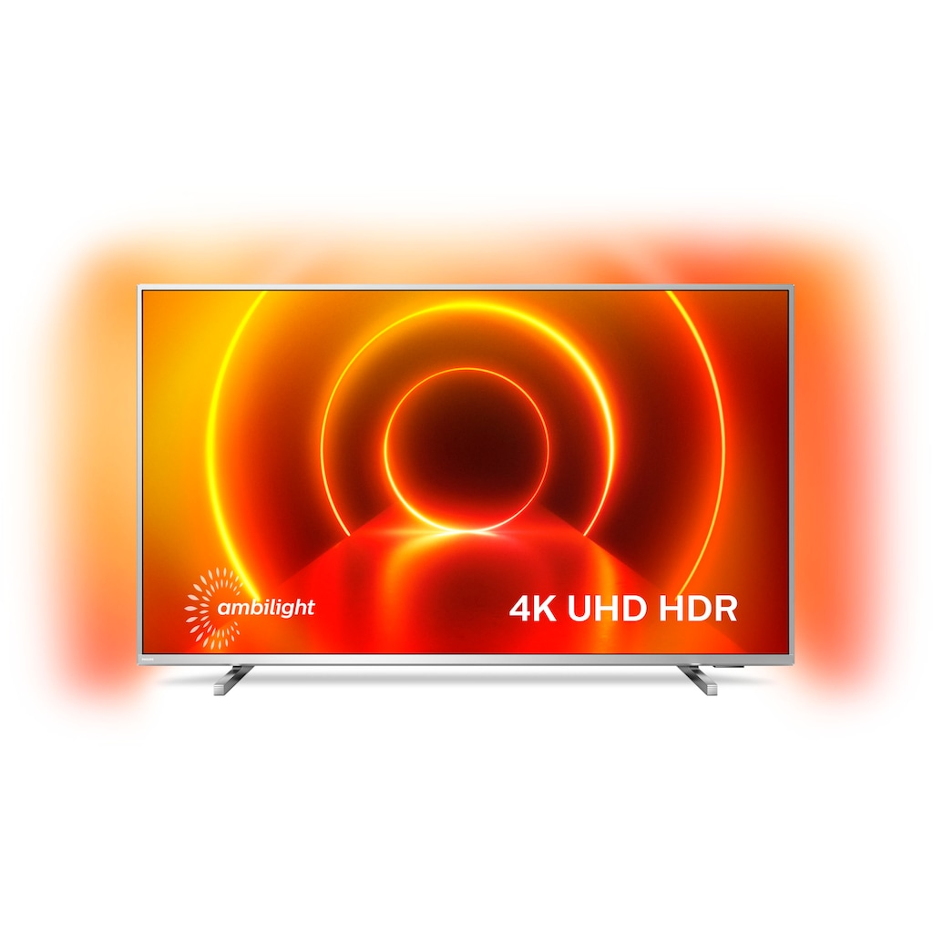 "Philips LED-Fernseher »58PUS8105«, 146 cm/58 "", 4K Ultra HD, Smart-TV, 3-seitiges Ambilght"