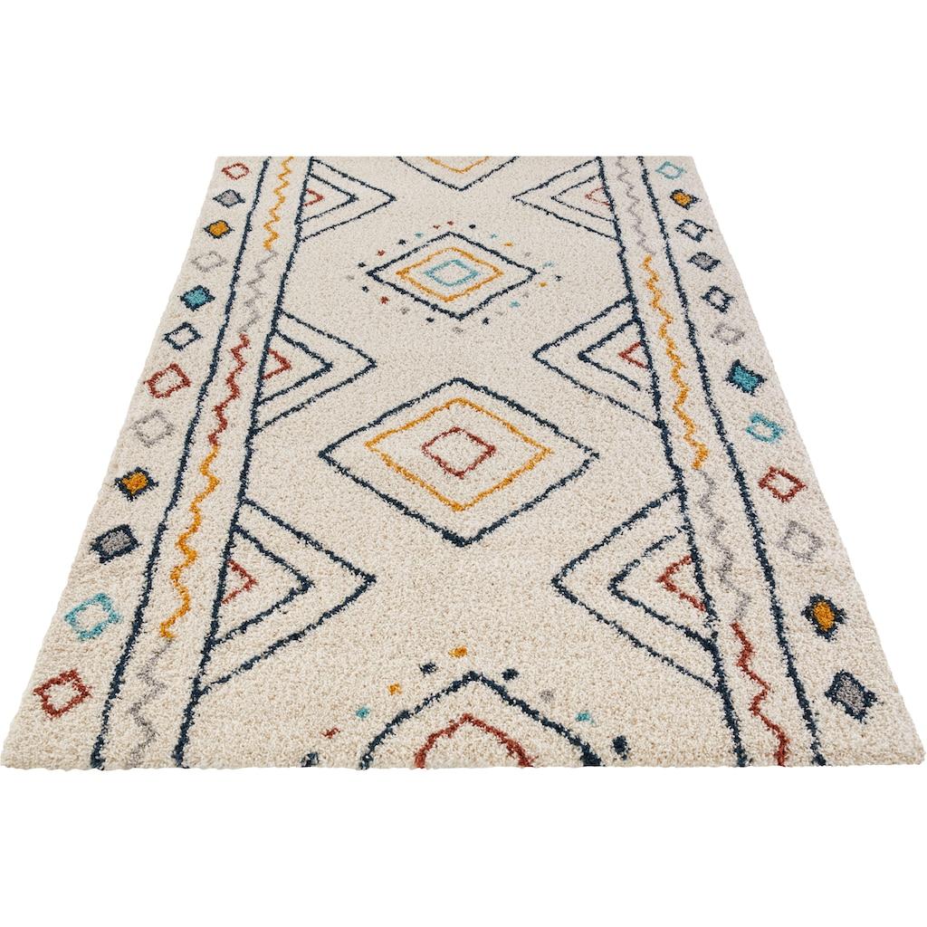 MINT RUGS Hochflor-Teppich »DISA«, rechteckig, 30 mm Höhe, besonders weich durch Microfaser, Wohnzimmer
