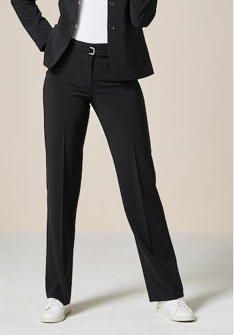 bianca Anzughose »PARIGI«, coole, gerade Business Hose mit dezentem Gürtel kaufen