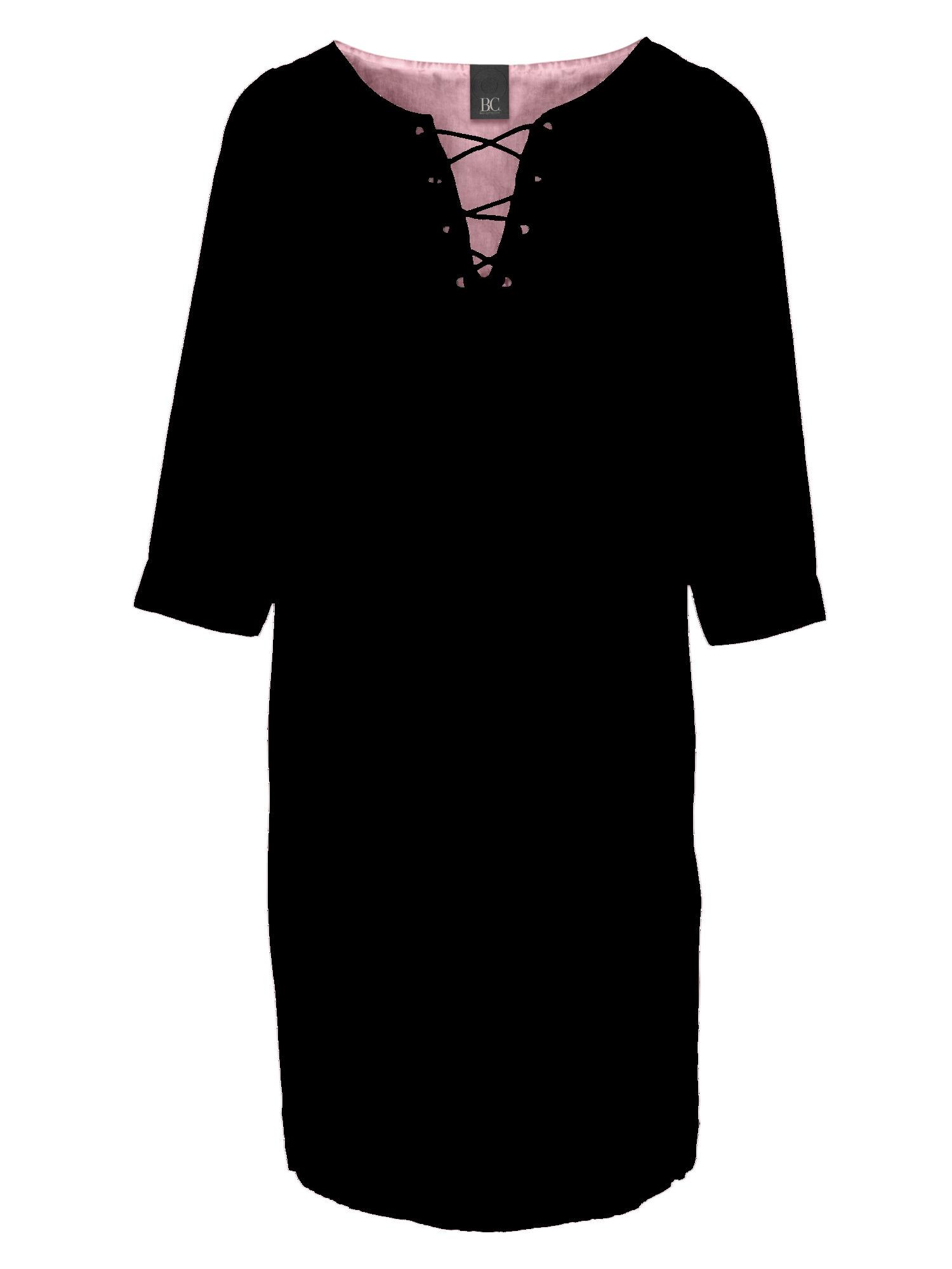 heine CASUAL Leinenkleid mit Schnürung
