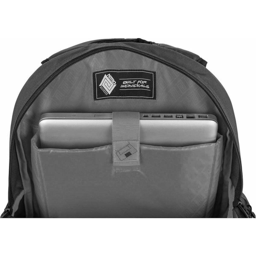 NITRO Schulrucksack »Hero, Golden Mud«, mit Laptopfach
