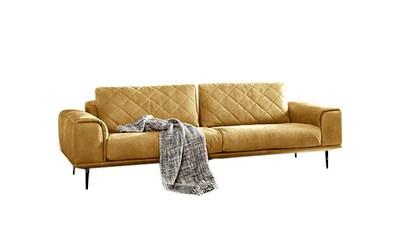 W.SCHILLIG 2,5-Sitzer »sam«, mit Diamant-Absteppungen, Metallfüße Chrom glänzend,... kaufen