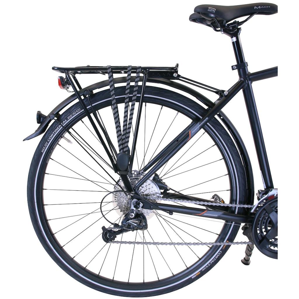 Performance Trekkingrad, 27 Gang, Shimano, ALIVIO RD-M3100 Schaltwerk, Kettenschaltung