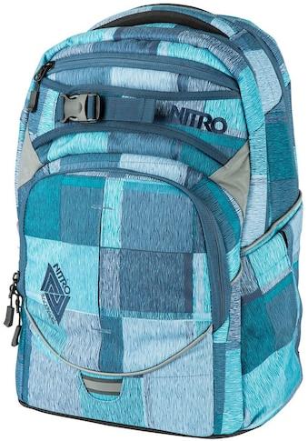 NITRO Schulrucksack »Superhero Zebra Ice«, Reflektoren kaufen