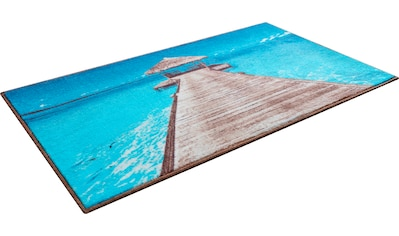 Badematte »Maledives«, GRUND exklusiv, Höhe 9 mm, rutschhemmend beschichtet, strapazierfähig kaufen