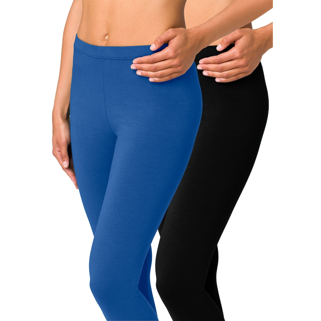 vivance active Leggings, (2er-Pack), mit Gummibund