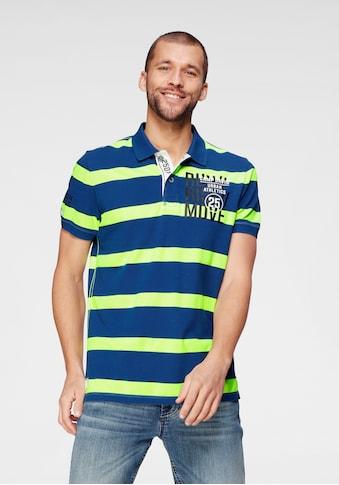 CAMP DAVID Poloshirt, mit Blockstreifen kaufen
