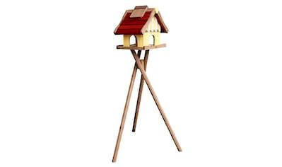 Habau Vogelhaus »Norwegen«, BxTxH: 35x44x40 cm, mit Standbein kaufen