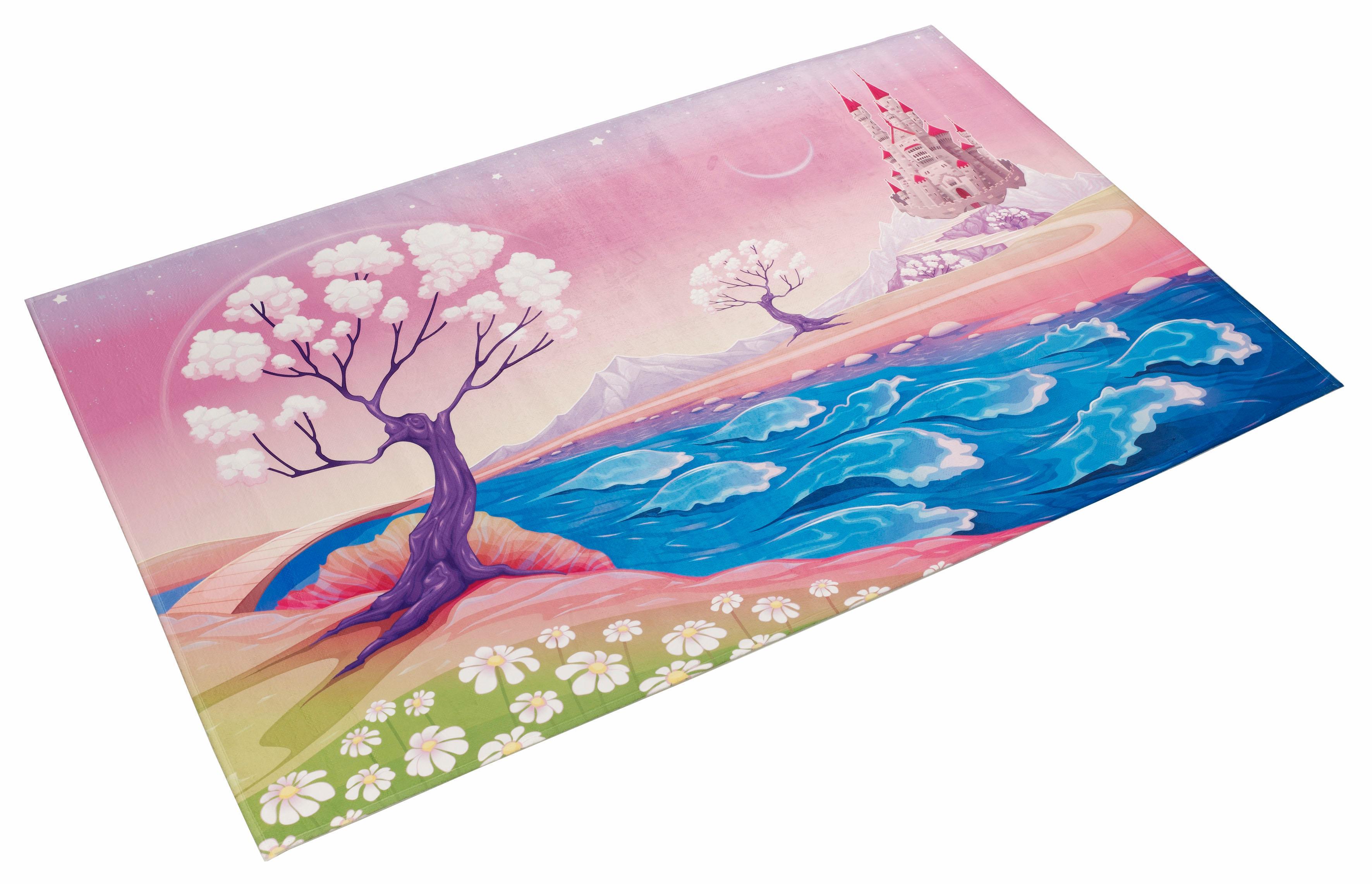 Kinderteppich Lovely Kids 405 Böing Carpet rechteckig Höhe 6 mm gedruckt