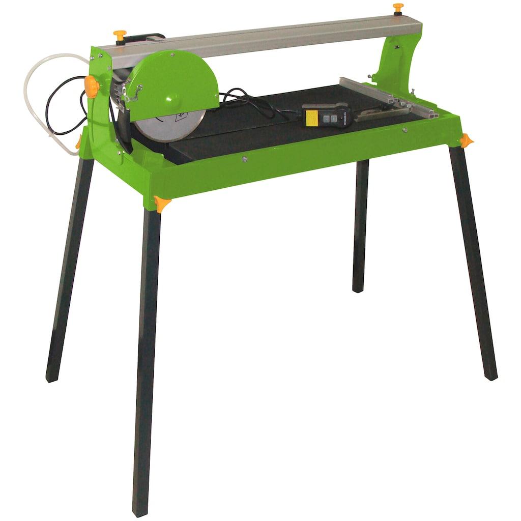 ZIPPER Fliesenschneider »ZI-FS200«, Tischgröße: 69,5x40 cm, inkl. Diamant-Trennscheibe und Tauchpumpe