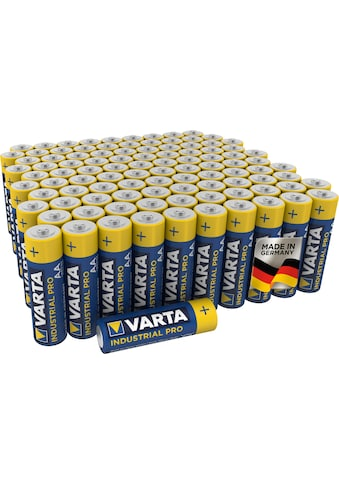 VARTA Batterie »Varta Industrial Pro Batterie AA Mignon Alkaline Batterien LR6... kaufen