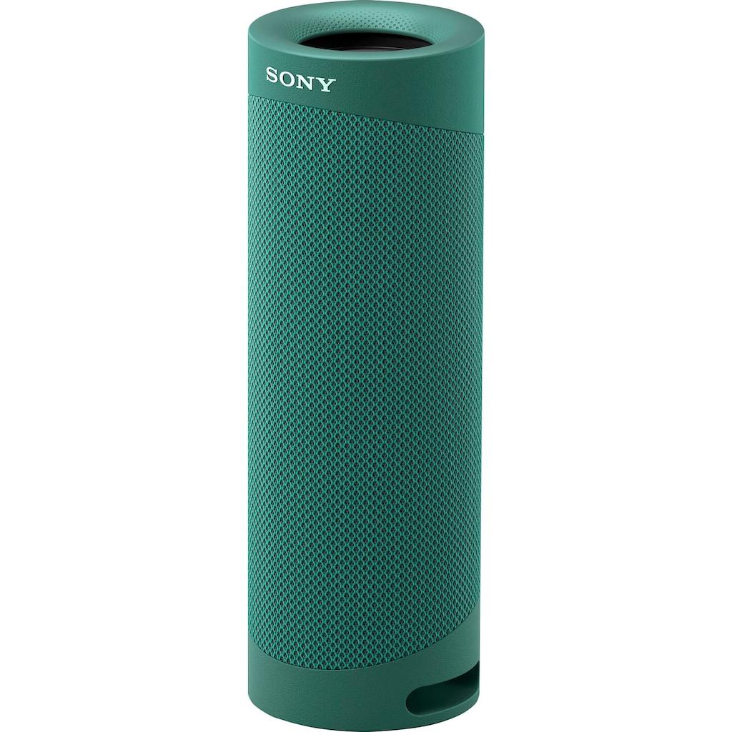 Sony Bluetooth-Lautsprecher »SRS-XB23 tragbarer, kabelloser«, 12h Akkulaufzeit, wasserabweisend, Extra Bass
