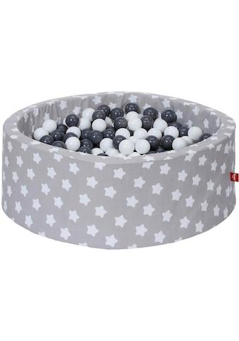 """Knorrtoys® Bällebad """"Grey, white stars"""" kaufen"""