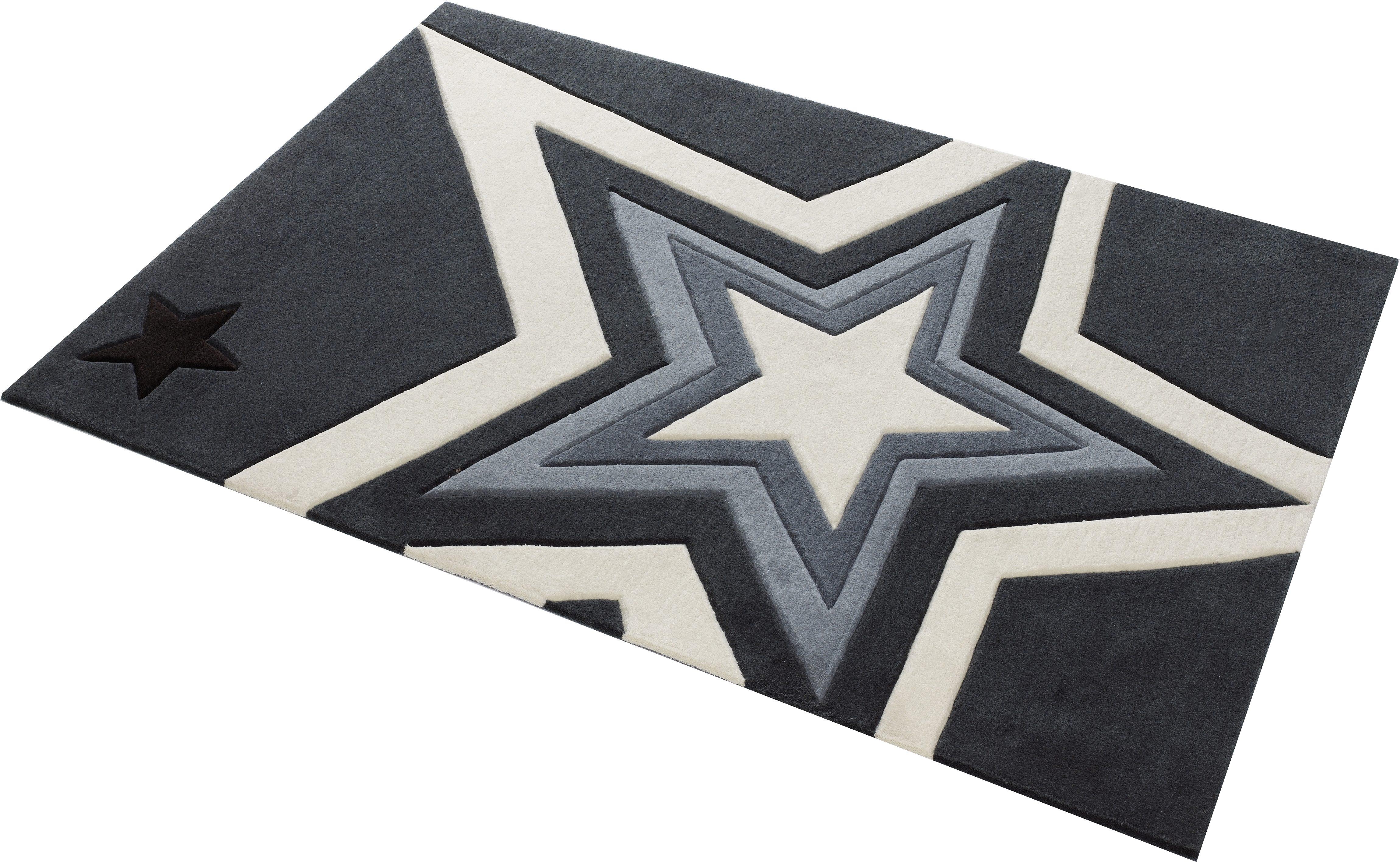 Teppich 704 Rock STAR Baby rechteckig Höhe 10 mm